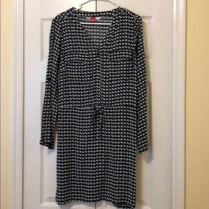 Max Studio Roll Sleeve Dress